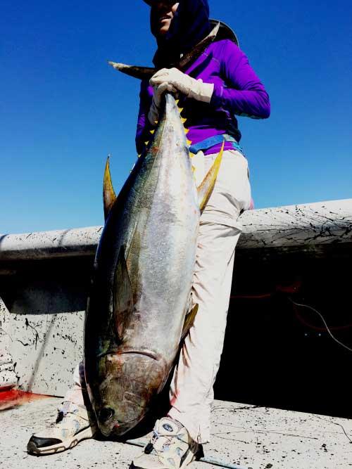 Tuna fishing while on vacation in panama success near for Panama deep sea fishing