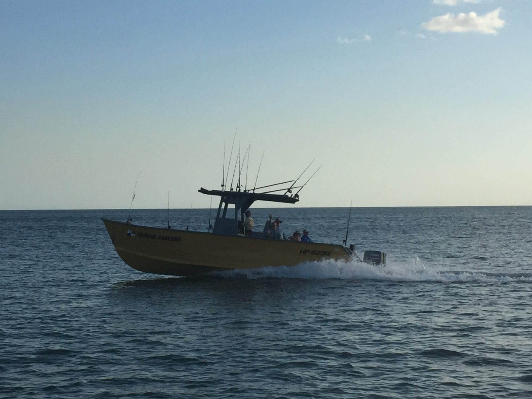 two boats going out hunting for tuna