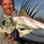 rooster fish caught with trent on the azuero peninsula