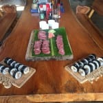 sushi caught and made same day fishing offshore panama