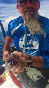 panama fishing trip gives great results catching spanish mackeral near tuna coast