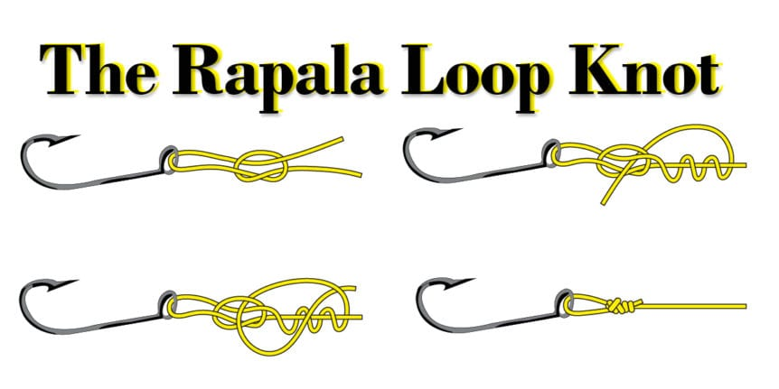 rapala loop knot how to