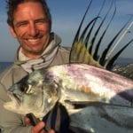 rooster fish caught while on panama fishing trip fishing isla coiba